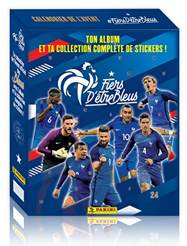 Panini France SA - Equipe de France Calendrier de l'Avent Contenant 1 Album, 2321-094, Non