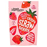 8X The Snack Org - Freeze Dried Fruit - Strawberry