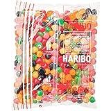 Haribo DRAGIBUS Mini Soft Kaubonbons in verschiedenen Farben 2KG Mega