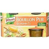 Knorr Bouillon Pur Huhn Brühe 6 x 500 ml, 4er-Pack