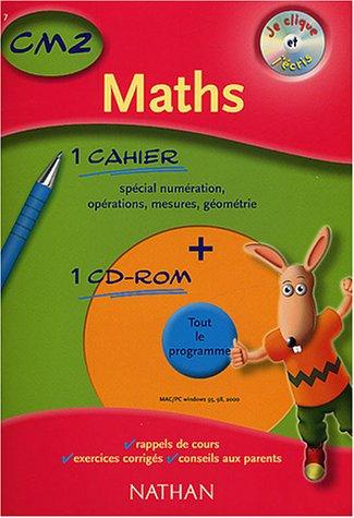 Je clique et j'écris : Maths CM2, 2003