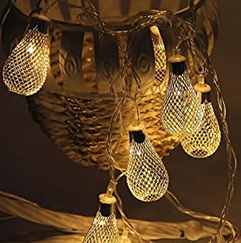 Cheap4uk 7.2FT 20 LED Drops Fairy String Light, Battery-Powered for Decoration