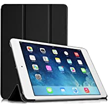 Fintie iPad mini 1 / 2 / 3 Funda - Súper Thin Fit Smart Case Funda Carcasa con Stand Función y Auto-Sueño / Estela para Apple iPad mini 1 2 3, Negro