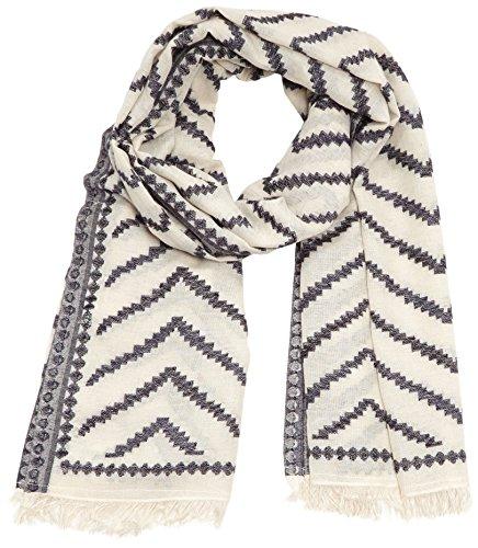 PIECES Damen Umschlagtuch PCTIRSE LONG SCARF, Gr. One size, Mehrfarbig (Whitecap Gray) Preisvergleich