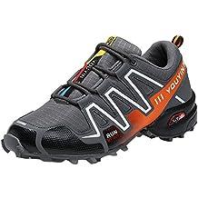 Zapatillas de Hombre, Zapatos Antideslizantes para Hombre Senderismo Botas Impermeables Zapatos de Escalada al Aire