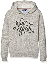 Tommy Hilfiger Ny Hd Hwk L/s, Sweat-Shirt à Capuche Fille