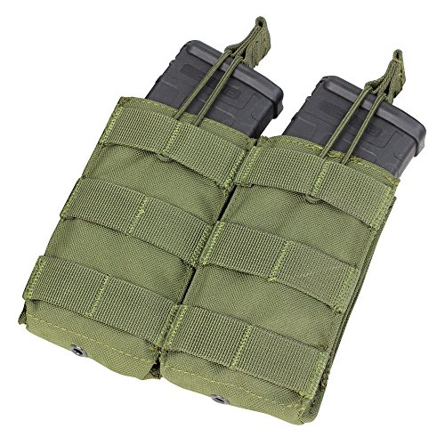 CONDOR MA19-001 Double M4-M16 Open Top Mag Pouch OD -