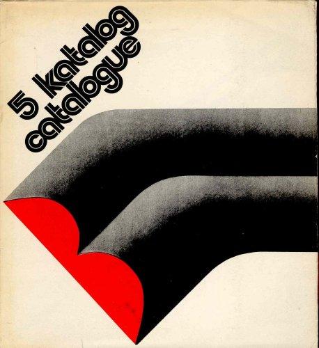 Miedzynarodowe Biennale Grafiki. Biennale Internationale de la gravure. 5 katalog catalogue par JAKIMOWICZ Irena