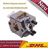 Stihl Neu Vergaser passend für Motorsäge Kettensäge 026 024 Reparatursatz Walbro