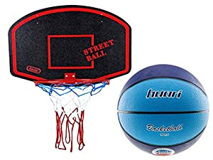 Basketballkorb mit Ball Basketball Korb Set Basketballspiel Manschaftssport...