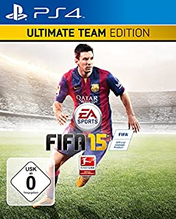 FIFA 15 - Ultimate Team Edition mit Steelbook (Exklusiv bei Amazon.de) - [PlayStation 4] (B00KT2ZDCE) | Amazon price tracker / tracking, Amazon price history charts, Amazon price watches, Amazon price drop alerts