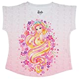 Barbie Pink Polyester Top For Girls MBR0015_8-9Y