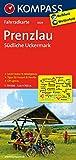 KOMPASS Fahrradkarte Prenzlau - Südliche Uckermark: Fahrradkarte. GPS-genau. 1:70000: Fietskaart 1:70 000 (KOMPASS-Fahrradkarten Deutschland, Band 3029)