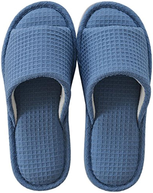 Gemütlich Sommer-Pantoffeln Reisen ziehen die Anti-Rutsch-Bad-Pantoffeln Baumwoll-Haus-Pantoffeln Damen-Paar cooleö