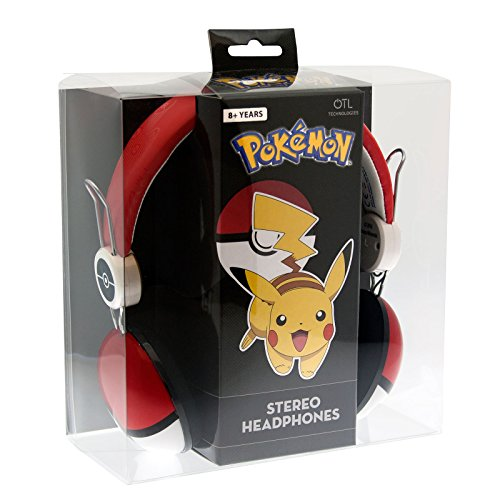 Image of OTL Pokemon POKE BALL Headphone