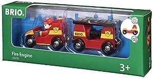 Brio - 33576 - Jeu de Construction - Véhicule de Pompier Son et Lumière