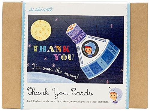 gnu-alain-gree-button-books-spaceship-thank-you-card
