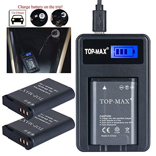 top-maxr-2x-en-el23-rechargeable-li-ion-battery-usb-chargerled-screen-for-nikon-coolpix-p600-s810c-p