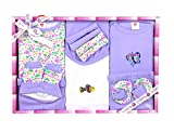 Baby Station Mini Berry Gift Set-13 Pcs For New Born (Purple)
