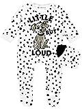 Disney Les 101 Dalmatiens - Dors Bien et Chapeau Ensemble - 101 Dalmatians - Bébé Fille - Blanc - 3-6 Mois
