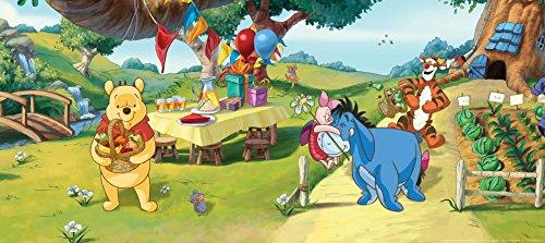 AG-Design-Winnie-The-Pooh-Disney-Garden-Photo-Mural-Wallpaper-for-Childrens-Room-Multi-Colour-202-x-90-cm