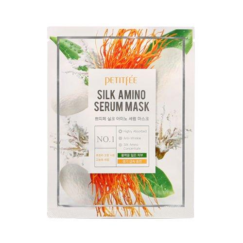 no Serum Mask - 10 x hochkonzentrierte Serummaske / Gesichtsmasken / Serum Maske mit Aminosäuren und natürliches Protein gegen Falten / Anti Aging und trockene Haut - Lifting Masken (Alter Mann Falten Halloween)