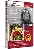 Spanisch (Südamerika)-Komplettpaket mit Langzeitgedächtnis-Lernmethode von Sprachenlernen24. Lernstufen A1 bis C2. Intensivkurs inkl. Grammatik. Software-DVD für Windows 10,8,7,Vista,XP/Linux/Mac OS X
