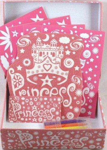 Colour your own Princess gioielli scatola dei