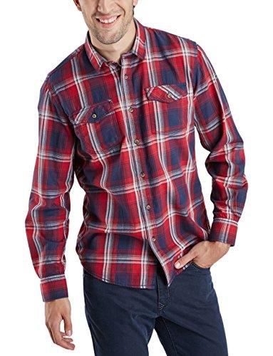 Pioneer Men Shirt, Camicia Uomo Rosso (warm red 807)