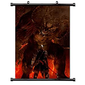 Dark Souls 2 Game Fabric Wall Scroll Poster (32x43) Inches