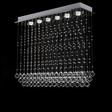 Moderner Luxus, Unterputz, modernen/zeitgenössischen Insel Chrom Funktion für Crystal LED Designer Metall Wohnzimmer Schlafzimmer Esszimmer Küche Flur 110-120 V (Designer-120v Beleuchtung)