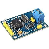 Módulo con controlador MCP2515 bus CAN, interfaz SPI y transceptor TJA1050 para Arduino, Raspberry Pi, 51, ARM, AVR, etc. de la marca Haljia