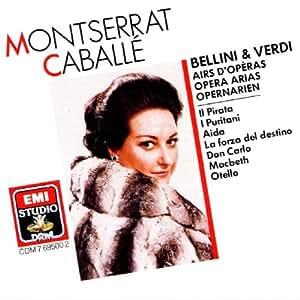 Montserrat Caballé Sings Bellini and Verdi Arias