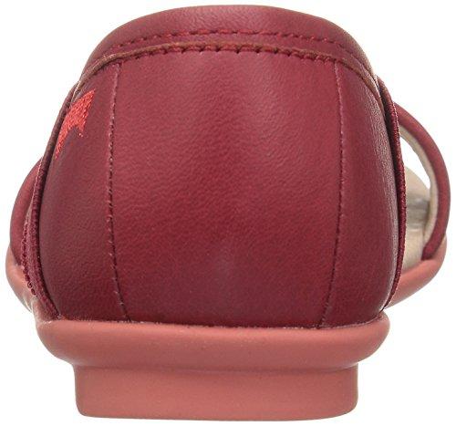 Camper Right, Ballerines Fille Rouge (Medium Red 005)