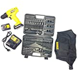 Dewalt DCD700C2A-IN 10.8V, 1.3Ah, Drill Driver with 109 Pieces Accessory Kit