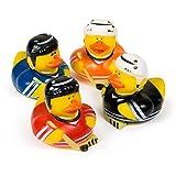 Die besten Fun Express Kinder Halloween-Kostüme - Fun Express Hockey Rubber Duck Party Favor Set Bewertungen
