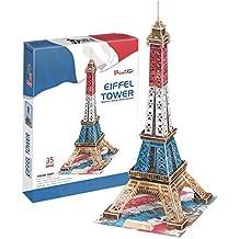 CubicFun c044t–3d Puzzle La Torre Eiffel Special Edition