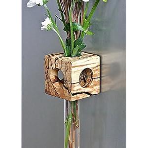 Magnetvase Buche gestockt Blumenvase Test Tube Vase