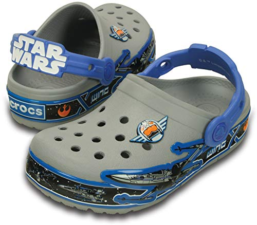 Crocs lights star wars xwing k sandali a punta chiusa, bambini, multicolore (mlt), 23/24