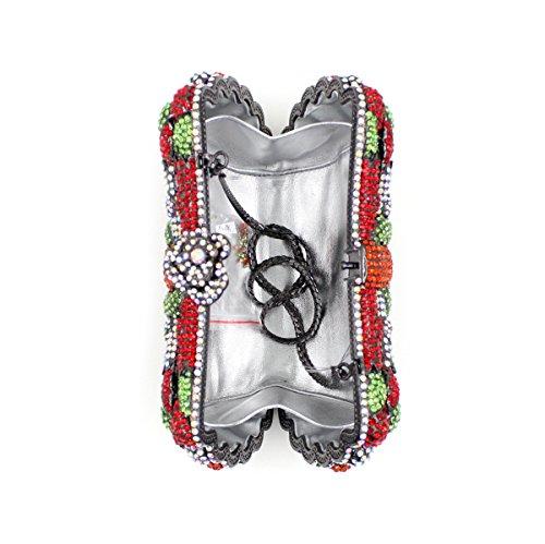 Dinner-Paket Europa und den Vereinigten Staaten Stil aristokratischen Tasche Handtasche Paket Diamantpaket 4 Farbe color