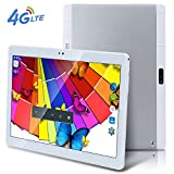 2017 Newest 4G LTE 10.6 10 inch tablet PC Android 6.0 Octa Core 4G RAM 64G ROM WIFI GPS 7 8 9 4G Dual sim card Phone Call Tablets silver