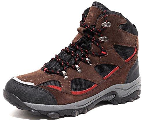 Herren ECHT LEDER Trekking & Wanderstiefel Outdoorstiefel Jagdstiefel Allterrain Schuhe Boots Gr. 43-45 (44) WASSERDICHT