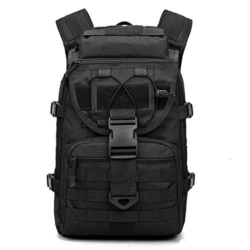 Zaino per computer portatile classic,casual unisex borsa da alpinismo da viaggio spalla spalla grande capacità maschio camuffamento militare spalla speciale allenamento di combattimento, 002
