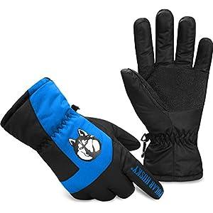 Polar Husky® Winterhandschuhe Kälteschutz für Ihre Hände mit Warmer Thinsulate Füllung und wasserdichtes Material [XS-4XL]