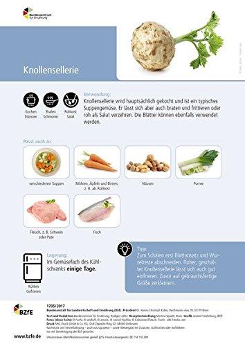 Lebensmittel-Infoblatt: Knollensellerie