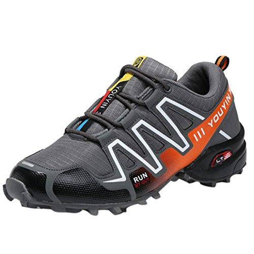 Sportschuhe Herren Btruely Sommer Laufschuhe Sportlich Sneaker Belüftung Fitnessschuhe Hiking Traillaufschuhe Männer Outdoorschuhe Running Atmungsaktiv Schuhe