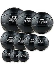 C.P. Sports Medizinball Set 1-10 KG , Gewichtsball, Medizinbälle, Fitnessball, Crossfit Ball, Medicalball - 10 Bälle 1kg - 10kg