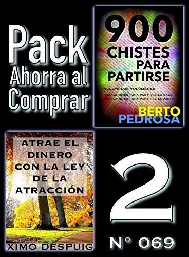 Pack Ahorra al Comprar 2 (Nº 069): Atrae el dinero con la ley de la atracción & 900 Chistes para partirse por Ximo Despuig
