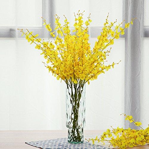 Floor Transparent Glass Vase/living Room Hydroponic Vase-a