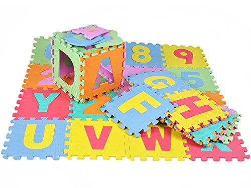 Puzzle matte Spielmatte Spielteppich Kindertepich 36tlg Schaumstoffmatte #4693